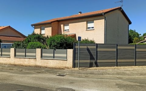 Aménagement d'une clôture